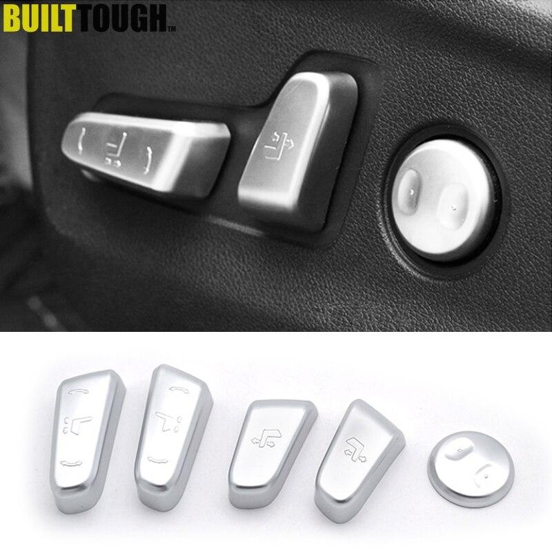 Хромированный переключатель регулировки сиденья для Kia Sportage QL 2017-2019, крышка кнопки управления, отделка, литье, Стайлинг автомобиля