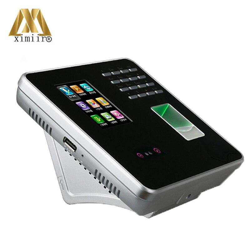 FA200 ZK инфракрасная камера TCP/IP связь отпечатков пальцев + цвет лица экран пароль определение времени часы посещаемость времени - 3