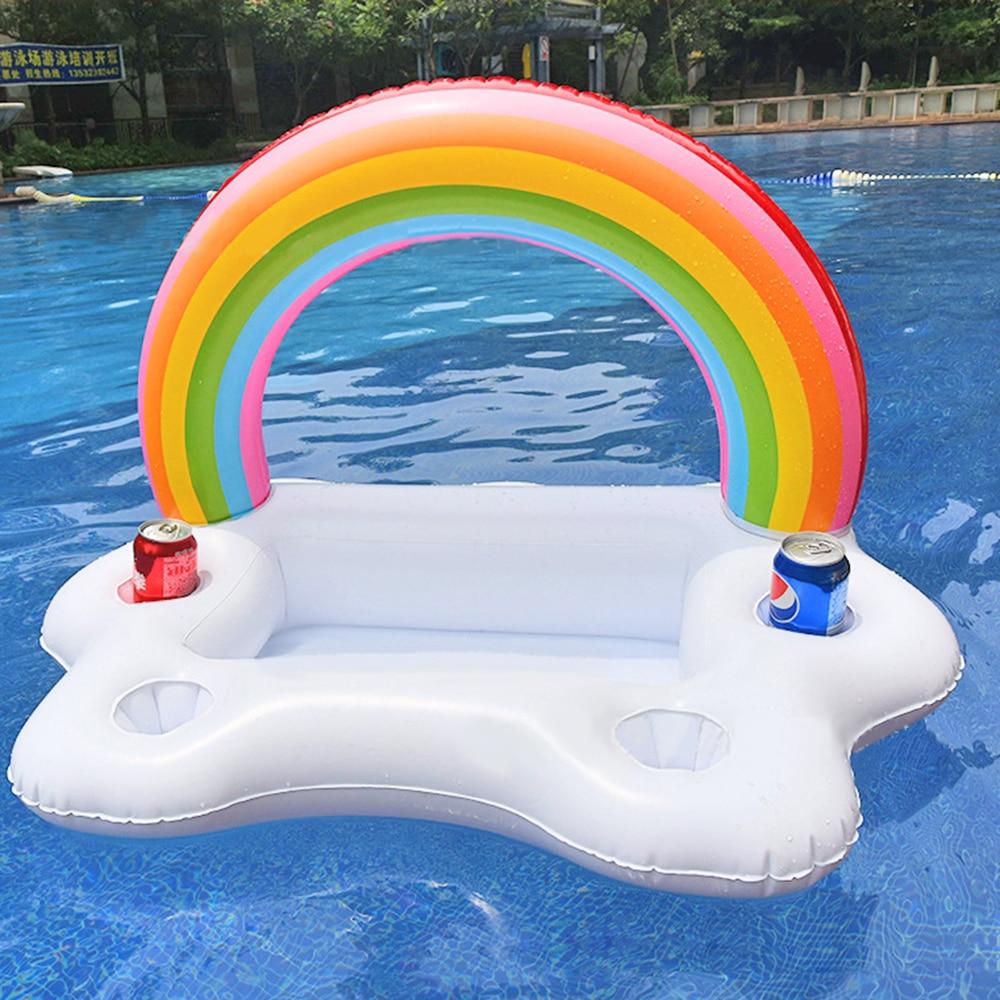 Rainbow Cloud Drink Holder Beach Party Cooler 2018 - Су спорт түрлері - фото 2