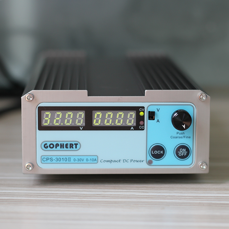 CPS-3010II Voltage Regulators DC Switching Power Supplies OVP OCP OTP 0-30V 0-10A Adjustable Power Supply Mini laboratory power 1 pc cps 3220 precision compact digital adjustable dc power supply ovp ocp otp low power 32v20a 220v 0 01v 0 01a