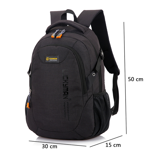 9f850c139b 2018 New Fashion Men s Backpack Bag Male Polyester Laptop Backpack Computer  Bags high school student college