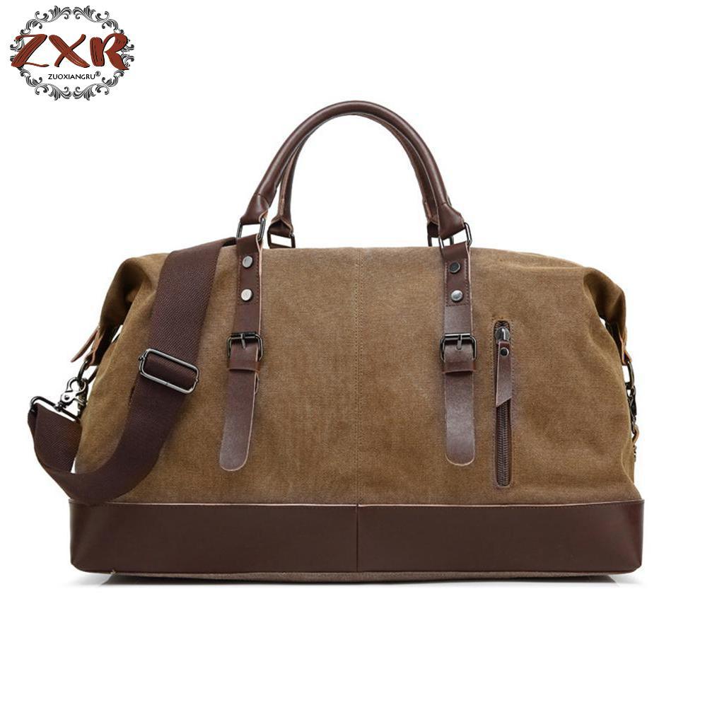 สไตล์ยุโรปและอเมริกาใหม่กระเป๋าเดินทางของผู้ชายถุงผ้าใบย้อนยุคแฟชั่นกระเป๋าซิปเดินทางแบบพกพาD Uffelวันหยุดสุดสัปดาห์กระเป๋า-ใน กระเป๋าเดินทาง จาก สัมภาระและกระเป๋า บน AliExpress - 11.11_สิบเอ็ด สิบเอ็ดวันคนโสด 1