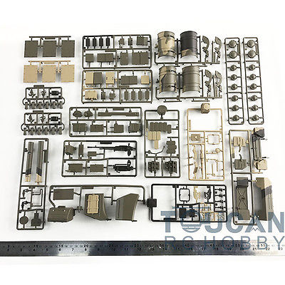 HengLong 1/16 Russian T90 RC Tank Model 3938 Decoration Parts Bag Accessory henglong 3938 3938 1 russian t90 1 16 rc tank upgrade parts metal chain set driving wheel inducer free shipping