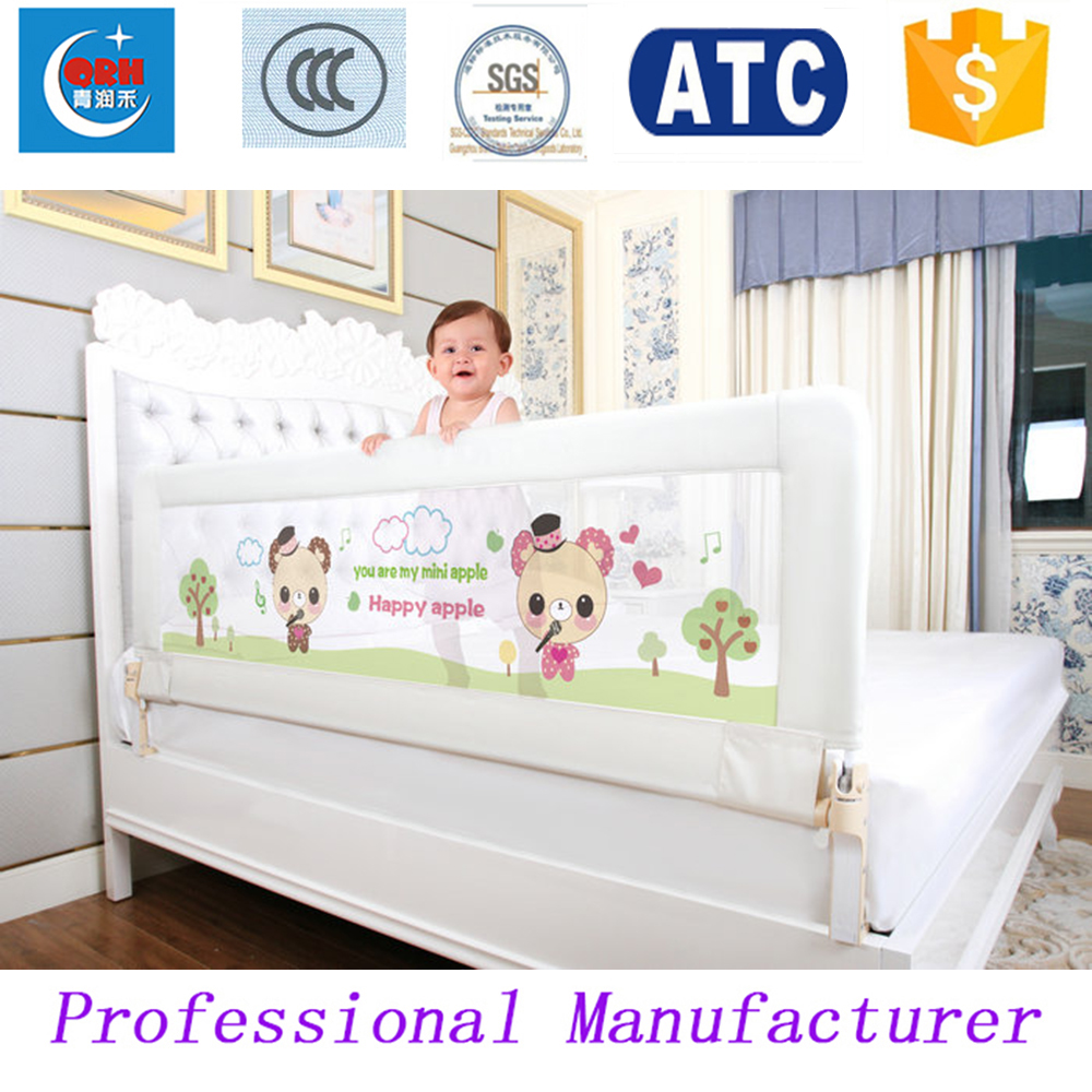 Baby bed gates - Aliexpress Com Buy 180 66cm One Hand Fold Baby Bed Rail Kids Bed Fence Children Bed Guard From Reliable Bed Railing Suppliers On Twomother For Baby