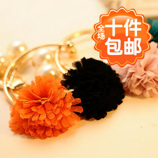 0726 accessories fashion female personality daisy love pearl chiffon flower bracelet