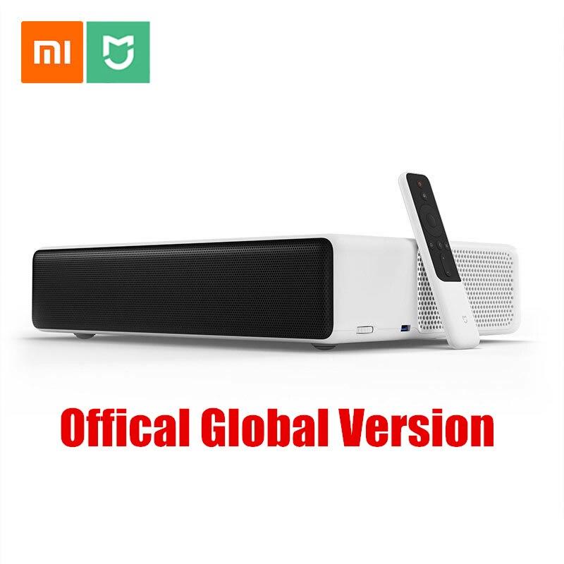 TV de Projection Laser Xiaomi Mijia 150 pouces 1080 Full HD 4 K Wifi 2.4G/5 GHz DOLBY DTS 5000 lumens cinéma maison
