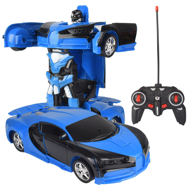 RC Transformer 2 in 1 RC Car Driving Transformation Robots Cars Models Remote Control Car RC