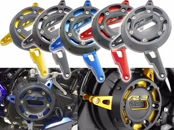 цена на CNC Engine Stator Cover Engine Guard Right Side Protective Cover For 2014-2018 Yamaha YZF-R3 YZF R3 R25 MT 03 MT03 2016 2017