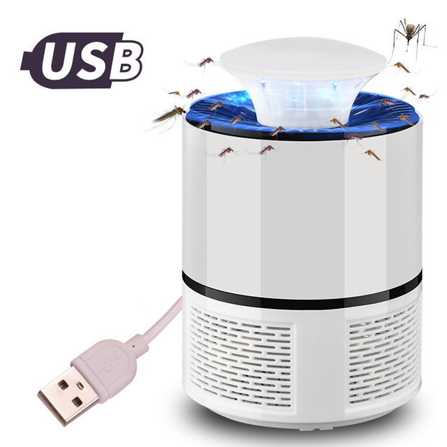 ETONTECK Mosquito killer USB electric mosquito killer Lamp Photocatalysis mute home LED bug zapper insect trap Radiationless 3