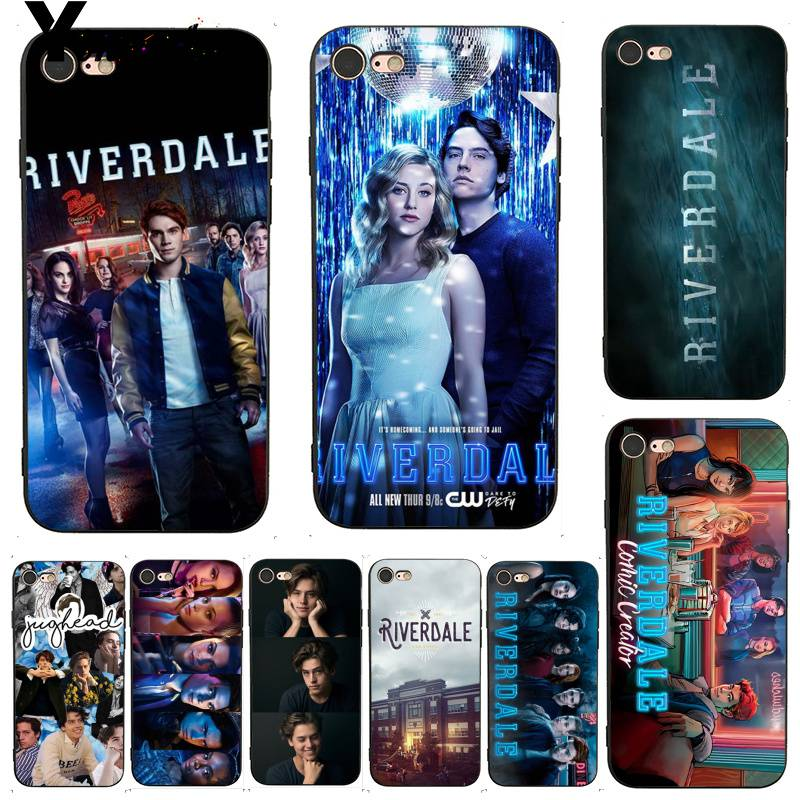 Yinuoda For iphone 7 6 X Case Hot TV Show Riverdale Dominant Protector phone for iPhone 6s 7plus 8 8Plus 5 5S 5C SE