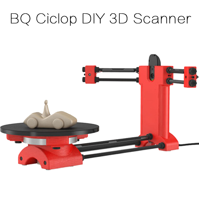 Reprap 3d Open Source DIY BQ Ciclop 3d Scanner Kit For 3d