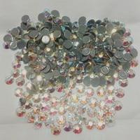 14 taglio super-lucido sciolto hot fix pietre ss16 crystal ab wih 1440 pz ogni lotto, cina fornitore all'ingrosso libero di trasporto
