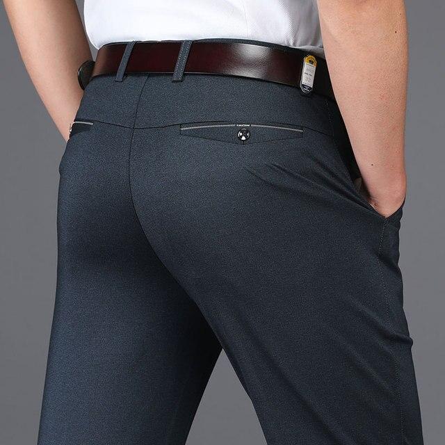 Anti Wrinkle Men Suit Pants  1