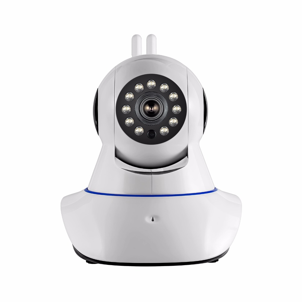 2018 Double Antenna Wireless WIFI 720P HD Security Camera Home CCTV Surveillance P2P Network Camera Night Vision Baby Monitoring camera security home hd wireless network smart phone remote wifi night vision security monitoring
