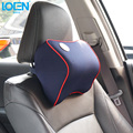 1PC High quality Memory foam chair office Car Headrest Neck support Cushion for spirior focus 2 mk4 jimny RAV4 E46 accord swift