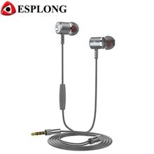 Original Langsdom M400 3.5mm In Ear Earphone Hifi Metal auricelares MP3 Earphones Super Bass fone de ouvido With Microphone