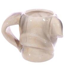 1Piece Puppy Dog Head Animal Head Ceramic Dog Shaped Mug