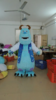 Vente chaude 2017 Sulley Costume De Mascotte James P. Sullivan Costume Party Fancy Dress Livraison gratuite