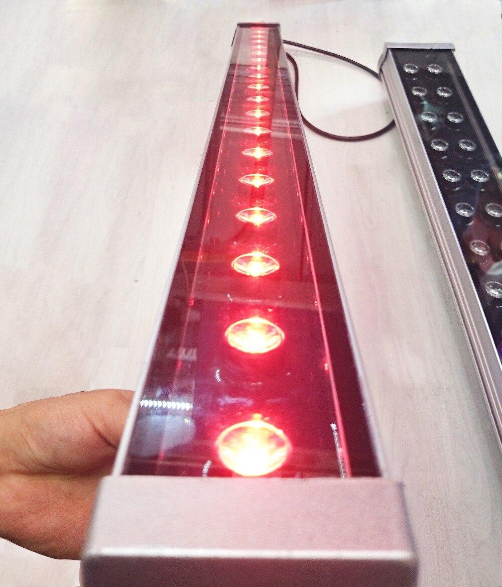 18 W 2.4G RF télécommande ou WIFI contrôle CCT/RGB/RGBW/RGBWW/RGB + CCT dimmable luminosité réglable led laveuse lumière