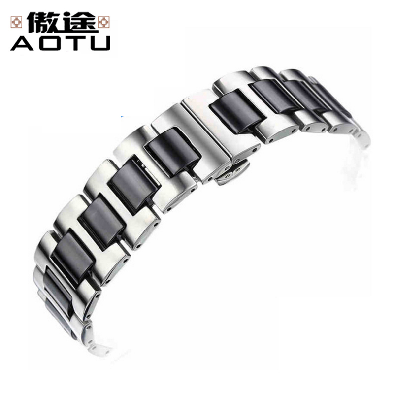 цена Stainless Steel Watchbands For Longines CONQUEST Men Metal Watch Straps For Women 16mm 20mm Ladies Watch Bracelet Belt Strap онлайн в 2017 году