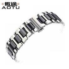 Stainless Steel Watchbands For Longines CONQUEST Men Metal Watch Straps For Women 16mm 20mm Ladies Watch Bracelet Belt Strap