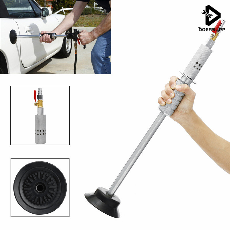 Doersupp Air Pneumatische Dent Puller Auto Auto Körper Reparatur Saugnapf Slide Hammer Tool Kit Slide Hammer Werkzeuge