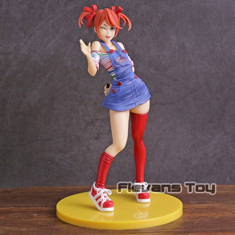 Bride of Chucky Horror Bishoujo Statue PVC Figure Collectible Model Toy цена 2017