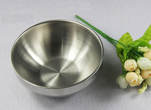 Thick 304 Stainless Steel Bowl Beat Egg Salad  Cooking Baking Tray Basin Salad  Stirring 3mm  Thickness BowlS  Container Tool