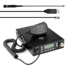 VV 898SP 25W 12000mAh çift bant 136 174 & 400 470MHz Backpackable mobil telsiz Leixen VV 898SP anten ve USB kablosu