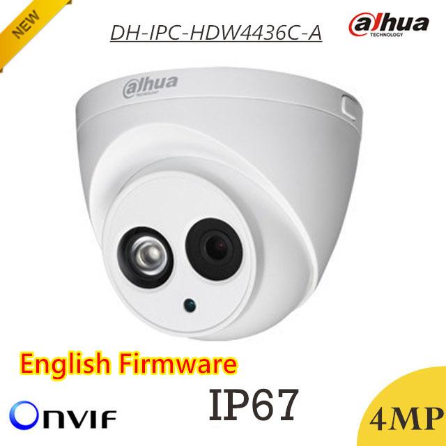 Más nuevo $ number mp Cámara IP Dahua DH-IPC-HDW4436C-A Impermeable IP67 HD1080p IR 50 m Reducción de Ruido Digital Soporte H.265 y Onvif