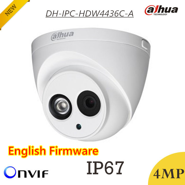bilder für Neueste dahua 4mp ip-kamera dh-ipc-hdw4436c-a wasserdicht ip67 h.265 hd1080p ir 50 mt unterstützung digitale rauschunterdrückung und onvif