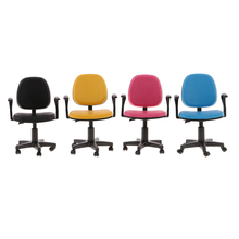 """New Dollhouse Miniature 1/6 Scale Swivel Chair Office Computer Chairs for 12"""" Barbie Action Figure Dolls Classic Furniture Toys"""