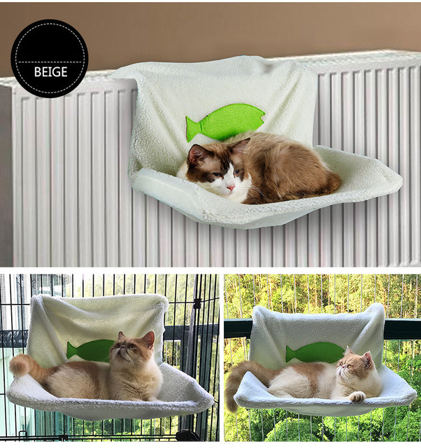 fashion pet cat hammock soft fleece cat kitty radiator hammock bed heater bed siesta warm small dog cat hanging bed pets cushion online shop fashion pet cat hammock soft fleece cat kitty radiator      rh   m aliexpress