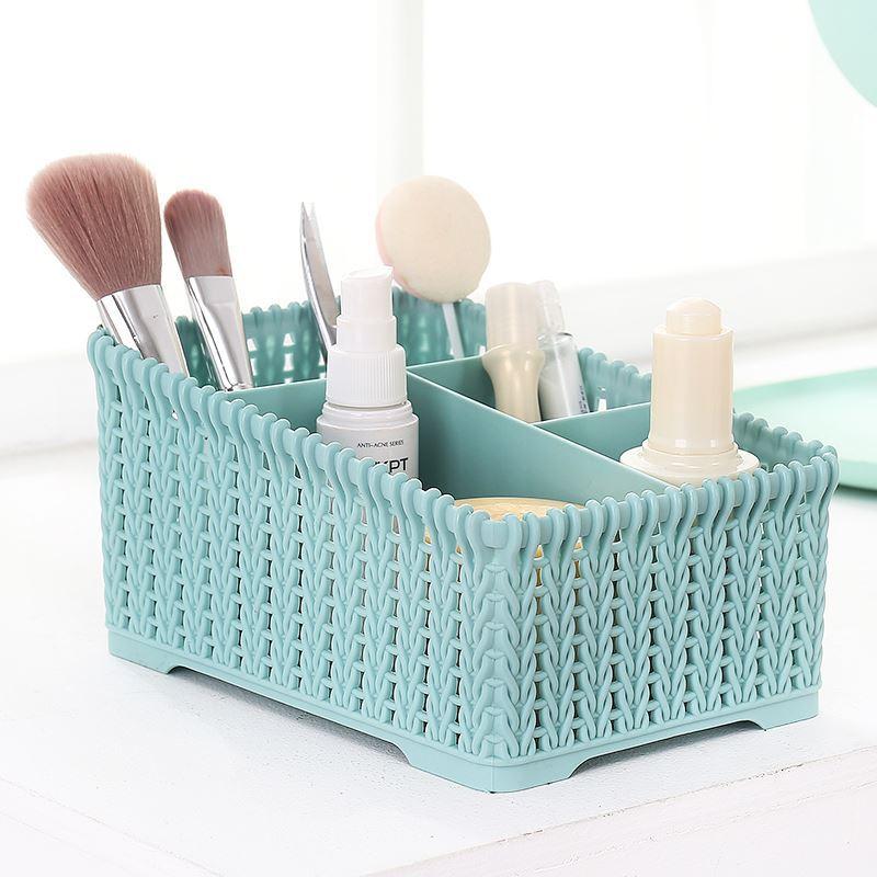 Large Capacity Cosmetic Storage Box Makeup Organizer Make Up Display Case Nail Polish Lipstick Holders Bathroom Desk Organizer