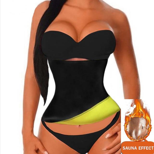 Waist Support Brace Belts Body Shaper Slimming Waist Trainer Women Wear Slimming Waist Trainer Sweat Belt Fitness Corset