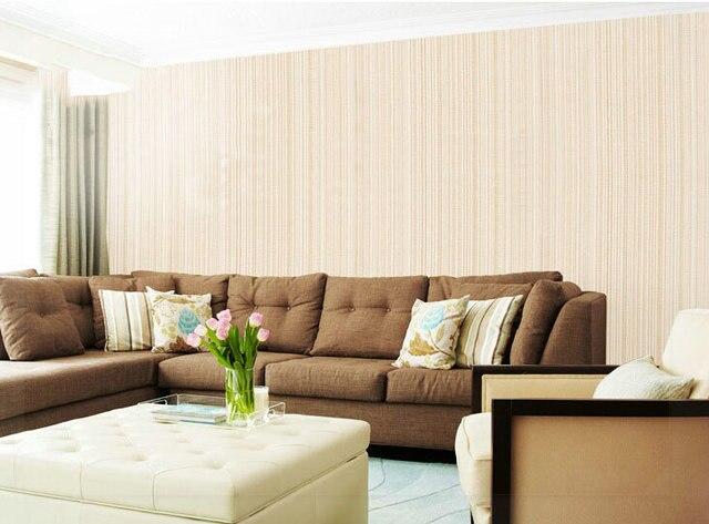 Slaapkamer Grijs Roze : Eenvoudige vlakte kleine streep krijtstreep behang roll grijs roze