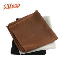 Ghxamp 스피커 천 먼지 메쉬 패브릭 홈 시어터 음향 흡음 천, 통기성 천 폭: 1.4 m * 길이: 1 m