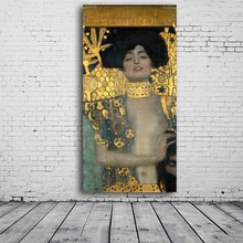Huge Modern Oil Painting Replica Of Nude Women From Gustav Klimt oil painting wall picture art for living room home decor цена