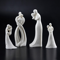 Silicone Candle Mold Character Statue Plaster Soap Molds DIY Craft Resin Clay Mould Aromatherapy Candle Making Tool