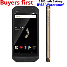 """DOOGEE S30 Smartphone IP68 Waterpoof Double Arrière caméra 5580 mAh 5.0 """"HD MTK6737 Android 7.0 RAM 2 GB ROM 16 GB 8MP 4G mobile téléphone"""