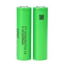 VariCore VTC6 3.7V 3000 mAh Li-ion Battery 18650 30A Discharge for VC18650VTC6 Toy Flashlight Tools E-cigarette ues
