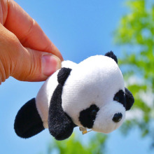 10PCS Panda ornaments Decoration for Car Seats Brooch