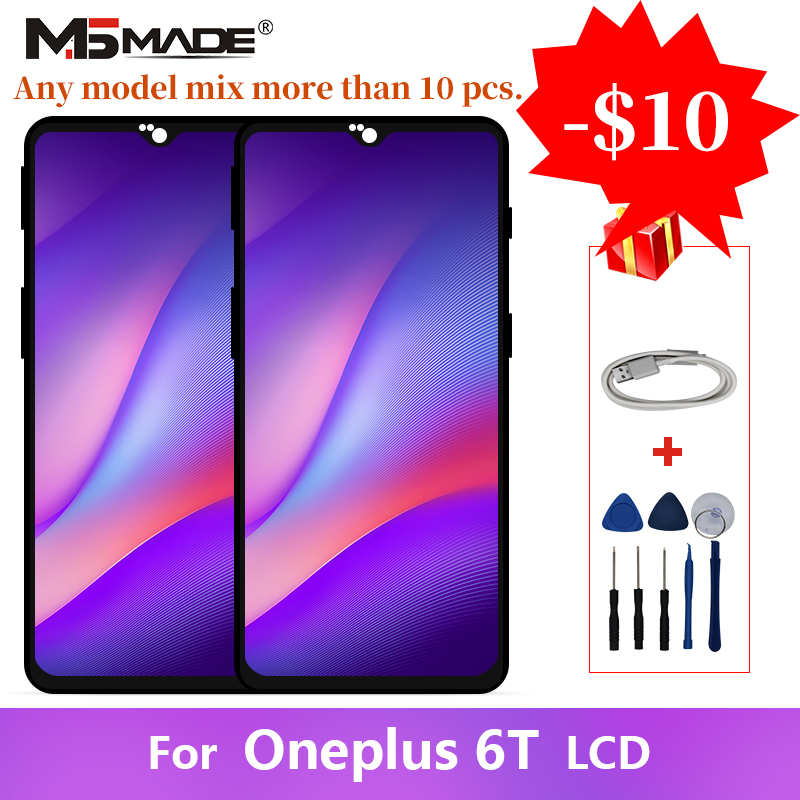 HOT SALE] For Oneplus 6T LCD Display Screen Touch Panel with
