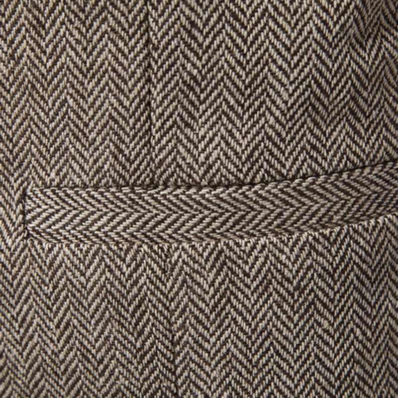 الرجال العلامة التجارية دعوى سترات صدرية جيليه أوم عادية أكمام رسمية الأعمال سترة رجالي سليم صالح فستان الزفاف سترات أوم