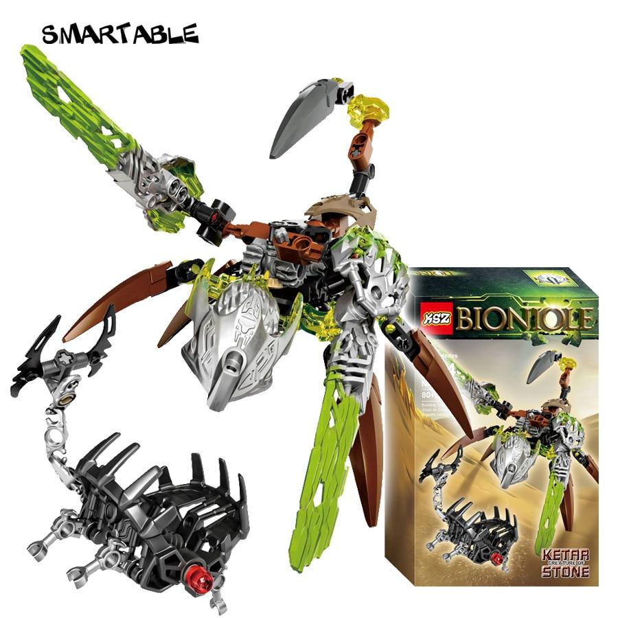 Smartable BIONICLE 80pcs Ketar Creature of Stone Figures 609 2 Building Block Toys For Boys Compatible All Brands 71301 BIONICLE|lego bionicle|compatible legolego compatible - AliExpress