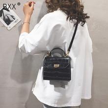 [BXX] ผู้หญิงเดี่ยวไหล่Crossbodyกระเป๋าAll Match Flap 2020 แฟชั่นหินกระเป๋าถือสุภาพสตรีกระเป๋าหนังPU HF169