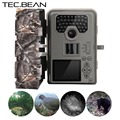 TEC.BEAN 12mp Infrared Hunting Camera Night Vision 36 IR LEDs IR Scouting Trail Cameras trap  IP66 Waterproof 0.5-0.6S Trigger