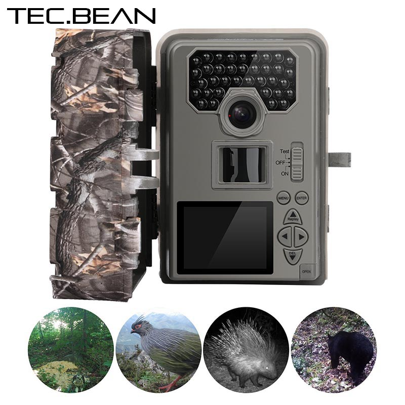 8a6e4be0036 ... Scouting Trail Cameras trap IP66 Waterproof 0.5-0.6S Trigger. TEC BEAN 12mp  Infrared Hunting font b Camera b font Night Vision 36 IR LEDs IR