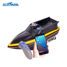 Lithium battery 2.4G frequency sonar fish finder bait boat rc carp fishing