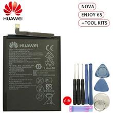 Original 3020mAh HB405979ECW Battery For Huawei Nova CAZ-AL10 TL00 CAN L01 CAN-L02 L12 Enjoy 6S Honor 6C Y5 p9 lite mini аккумулятор для телефона craftmann hb405979ecw для huawei nova enjoy 6s honor 6c